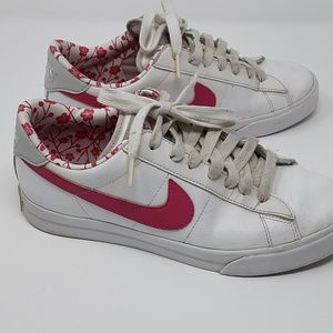 Nike Shoes Pink and White Sneakers Women Size 8